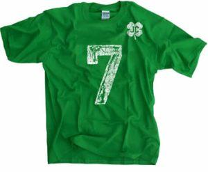 jimmy clausen no 7 t-shirt