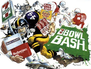 Mad Magazine football cartoon