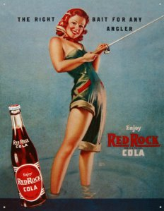 Red Rock Cola poster