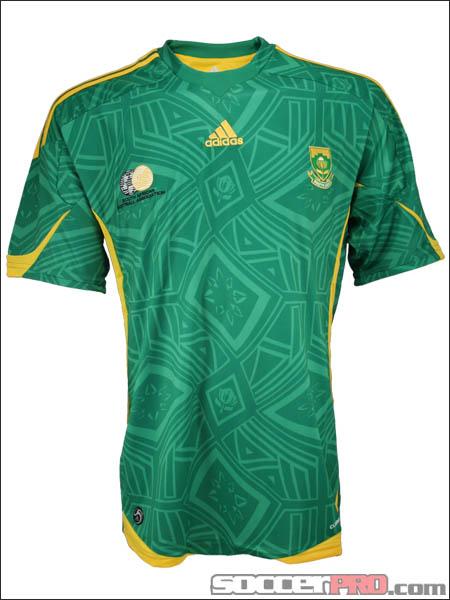 Soccer Jerseys, Kits, 2018 World Soccer Jersey   Fanatics  South Africa Soccer Jersey