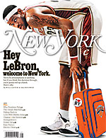 LeBron James New York Mag