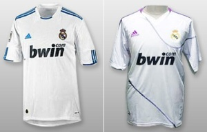 Real Madrid jerseys