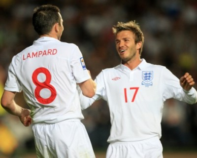 Beckham and Lampard in LA together?
